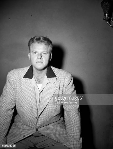 Alan Hale Jr portrays Biff Baker in the CBS television adventure program 'Biff Baker USA' episode 'The Alpine Assignment' Image dated October 6 1952