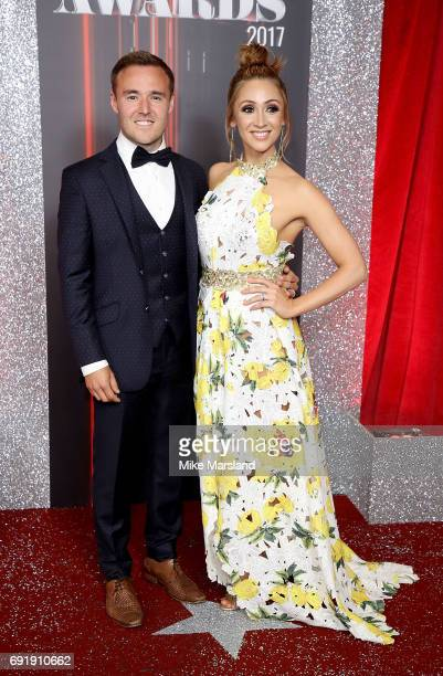 Alan Halsall and LucyJo Hudson attend The British Soap Awards at The Lowry Theatre on June 3 2017 in Manchester England The Soap Awards will be aired...