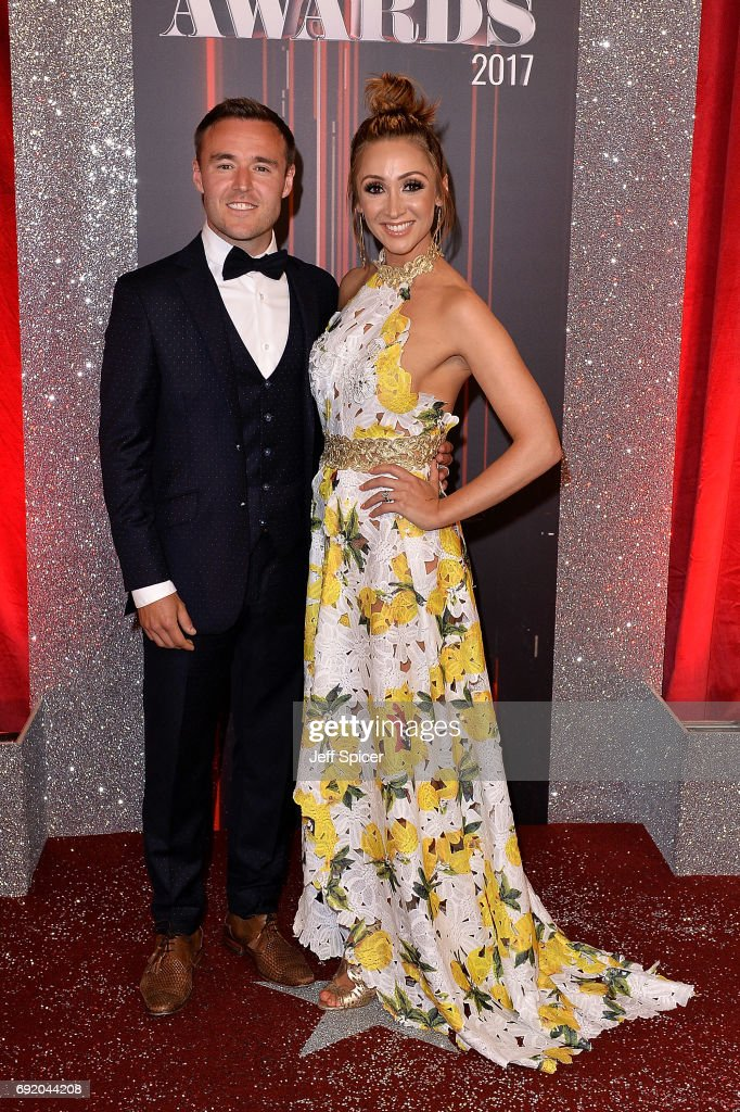 Alan Halsall and Lucy-Jo Hudson attend The British Soap Awards at The Lowry Theatre on June 3, 2017 in Manchester, England. The Soap Awards will be aired on June 6 on ITV at 8pm.