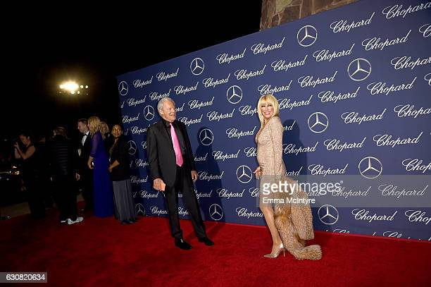 Alan Hamel and actress Suzanne Somers attend the 28th Annual Palm Springs International Film Festival Film Awards Gala at the Palm Springs Convention...