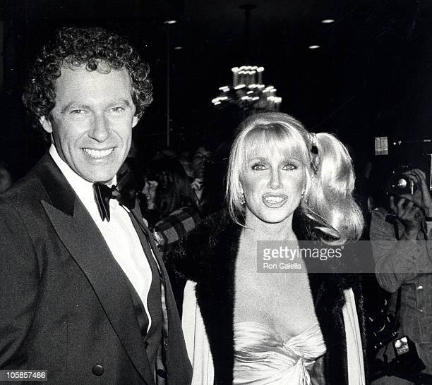 Alan Hamel and Suzanne Somers during 36th Annual Golden Globe Awards at Beverly Hilton Hotel in Beverly Hills California United States