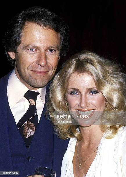 Alan Hamel and Suzanne Somers during National Association of Television Program Executives Luncheon at Bonaventure Hotel in Los Angeles California...