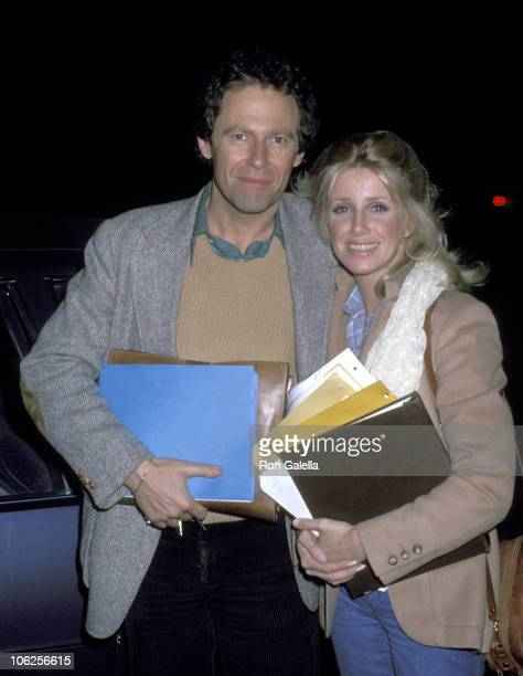 Alan Hamel and Suzanne Somers during Suzanne Somers Sighting at CBS TV City January 27 1978 at CBS TV City in Hollywood California United States