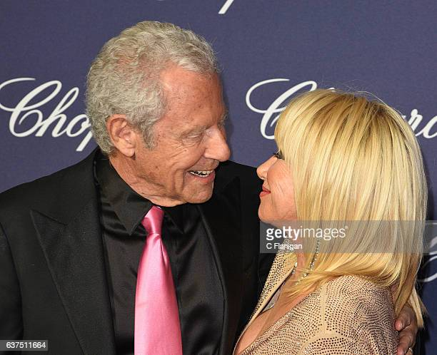 Alan Hamel Suzanne Somers arrives at the 28th Annual Palm Springs International Film Festival Film Awards Gala at Palm Springs Convention Center on...