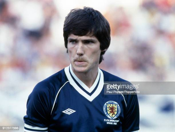 Alan Hansen of Scotland prior to the FIFA World Cup match between Scotland and Brazil at the Estadio Benito Villamarin in Seville 18th June 1982