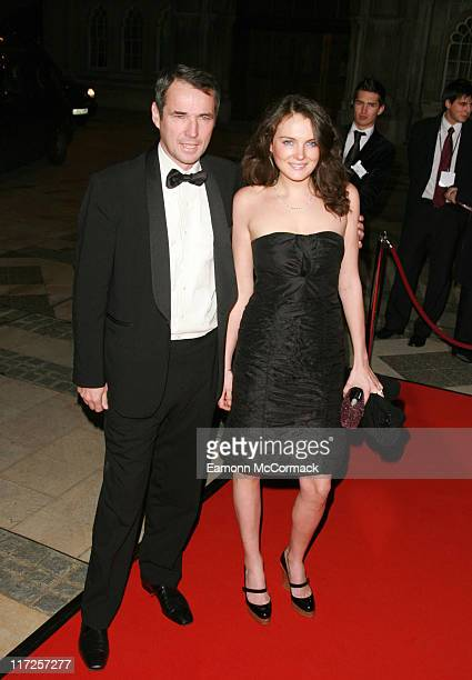 Alan Hansen with guest during Great Briton Awards 2006 Arrivals at Guildhall in London United Kingdom