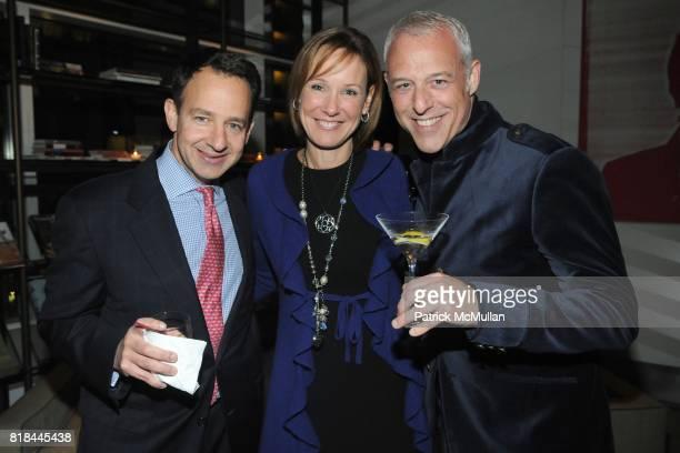 Alan Hartman Kim Hartman and Jonathan Rosen attend TOCAR Interior Design 10 Year Anniversary Celebration at Core Club on January 28 2010 in New York...