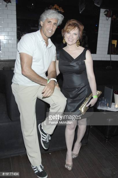 Alan Helene and Caroline Manzo attend Nic Roldan Shamin Abas and Tracy Mourning Host Hamptons Social Series Dinner For St Jude's at Lily Pond on July...