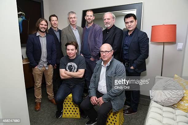 Alan Hicks Gabe Polsky Steve James Charlie Siskel James Keach Jose Antonio Vargas Mike Myers and Robert Kenner attend the 17th Annual Savannah Film...