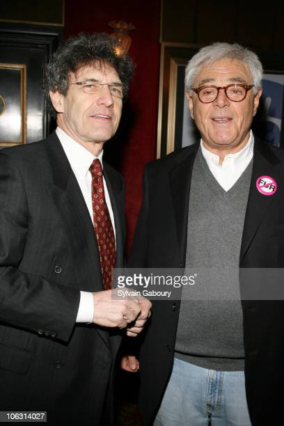 Alan Horn and Richard Donner during Warner Bros Pictures' World Premiere of 16 Blocks at Ziegfeld Theater in New York New York United States
