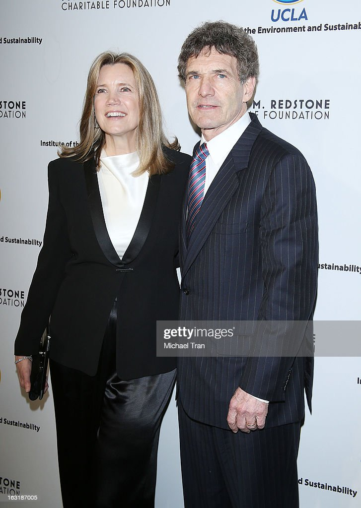 Alan Horn (R) and wife, Cindy Horn arrive at the 2nd annual an Evening of Environmental Excellence Gala held at a private residence on March 5, 2013 in Beverly Hills, California.
