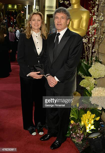 Alan Horn Chairman Walt Disney Studios and Cindy Horn attend the Oscars held at Hollywood Highland Center on March 2 2014 in Hollywood California