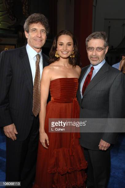 Alan Horn Mia Maestro and Barry Meyer during Poseidon Los Angeles Premiere Red Carpet at Grauman's Chinese Theater in Hollywood California United...