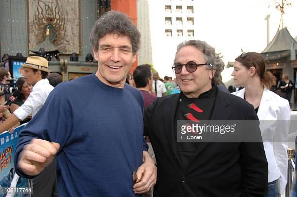 Alan Horn of warner Bros and George Miller director