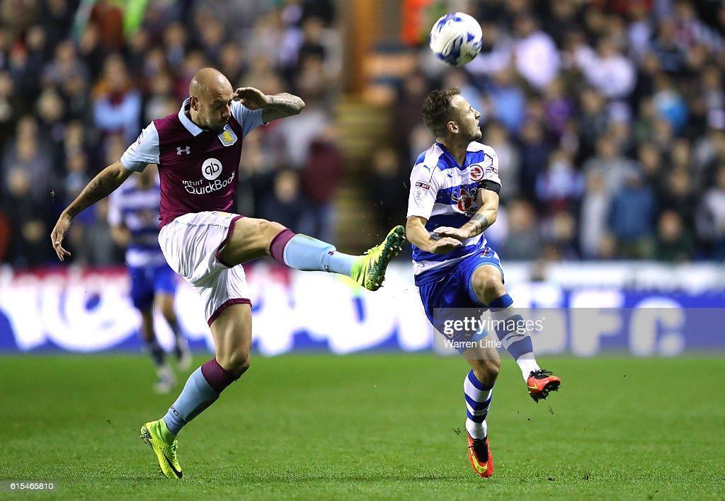 Reading v Aston Villa - Sky Bet Championship : News Photo