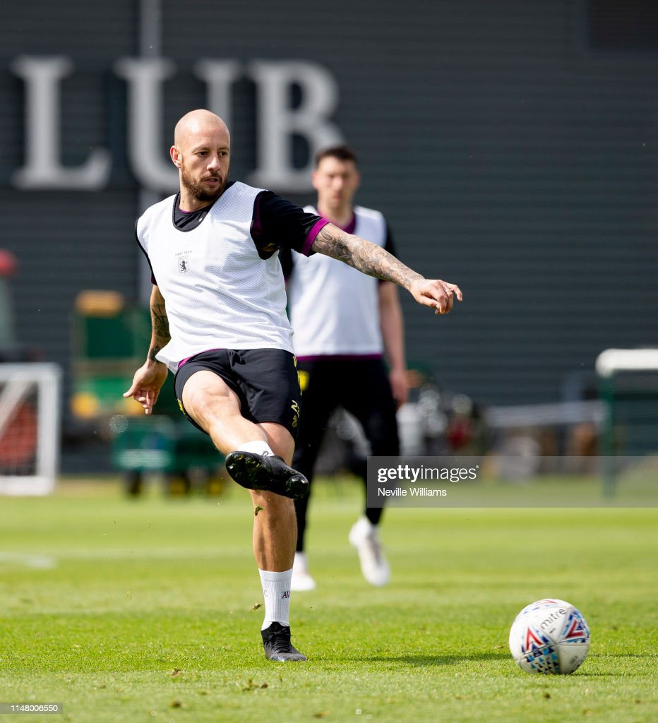Aston Villa Training Session : News Photo