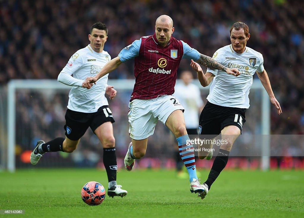 Aston Villa v AFC Bournemouth - FA Cup Fourth Round