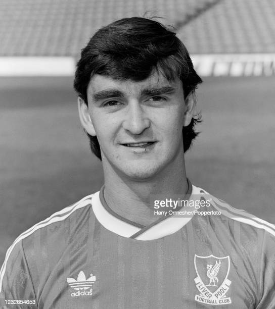 Alan Irvine of Liverpool at Anfield on July 21, 1987 in Liverpool, England.