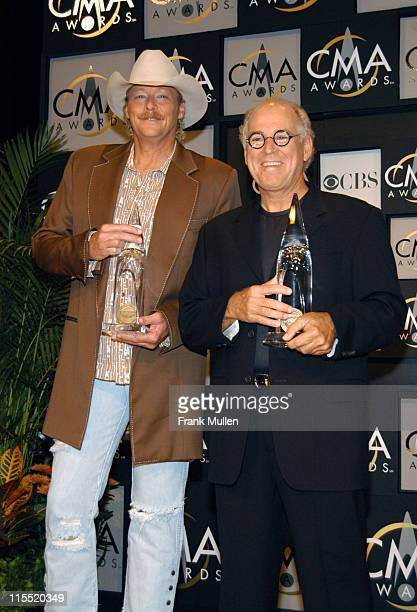 Alan Jackson and Jimmy Buffett winners Vocal Event of the Year