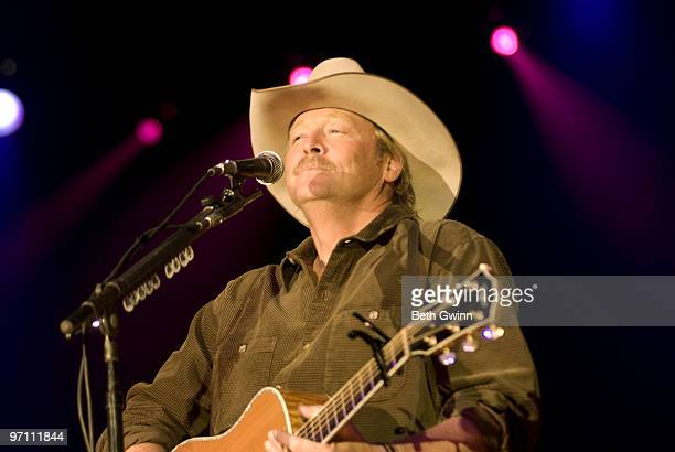 Alan Jackson attends the Sony Music Entertainment lunch and performance during the the 2010 Country Radio Seminar at the Nashville Convention center...