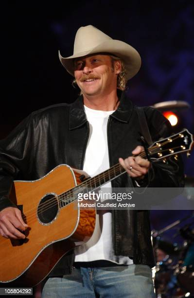 Alan Jackson during 31st Annual American Music Awards Day Three Rehearsals at Shrine Auditorium in Los Angeles California United States