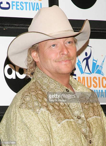 Alan Jackson during CMA Music Festival Fan Fair 2007 Thursday Night Press Conference June 7 2007 in Nashville Tenessee United States