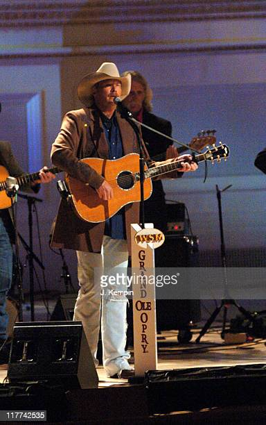 Alan Jackson during Country Takes New York City Grand Ole Opry at Carnegie Hall at Carnegie Hall in New York City New York United States