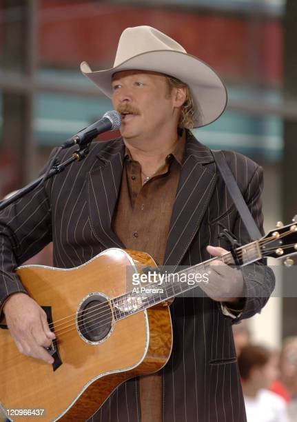 Alan Jackson during his performance on 'The Today Show' Dean Deluca Plaza Rockefeller Center NYC September 8 2006