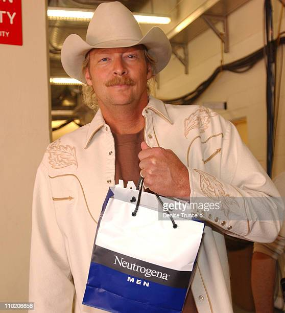 Alan Jackson during Neutrogena Gift Bag Lounge At The2004 Country Music Awards at Mandalay Bay Casino Resort in Las Vegas Nevada