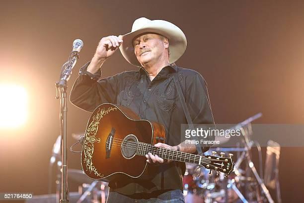Alan Jackson performs at Honda Center on April 16 2016 in Anaheim California