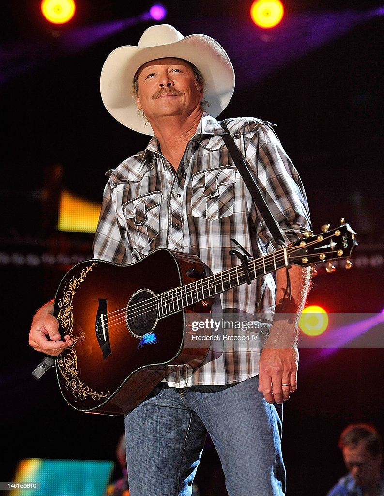 Alan Jackson performs at LP Field during the 2012 CMA Music Festival on June 10, 2012 in Nashville, Tennessee.