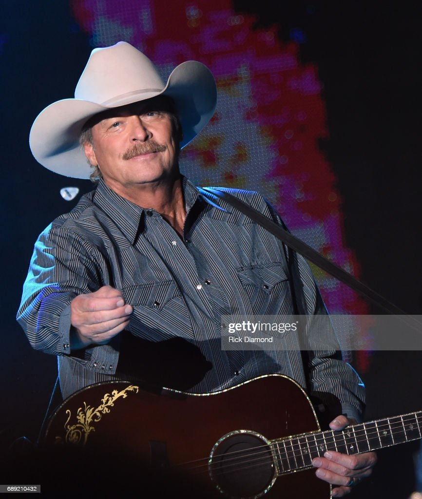 Alan Jackson performs at Tree Town Music Festival - Day 3 on May 27, 2017 in Heritage Park, Forest City, Iowa.