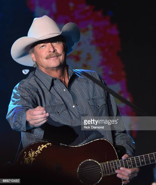 Alan Jackson performs at Tree Town Music Festival Day 3 on May 27 2017 in Heritage Park Forest City Iowa