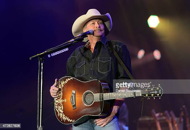 Alan Jackson performs at US Cellular Coliseum on May 9 2015 in Bloomington Illinois