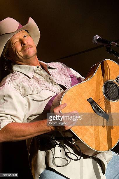 Alan Jackson performs during the 2009 BamaJam Music and Arts Festival on June 5, 2009 in Enterprise, Alabama.