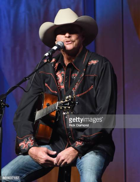 Alan Jackson performs during the 2017 Nashville Songwriters Hall Of Fame Awards at Music City Center on October 23 2017 in Nashville Tennessee