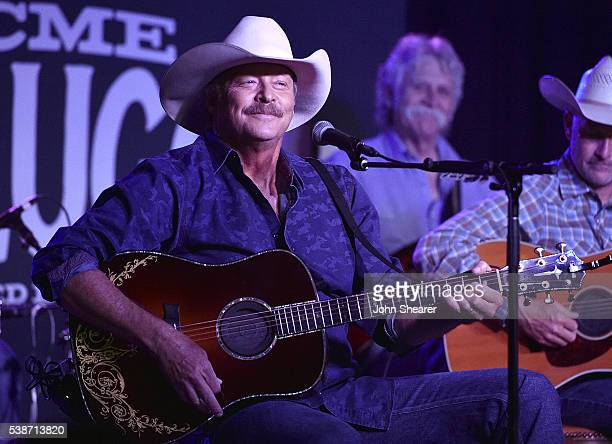 Alan Jackson performs live at Acme Feed & Seed on June 7, 2016 in Nashville, Tennessee.