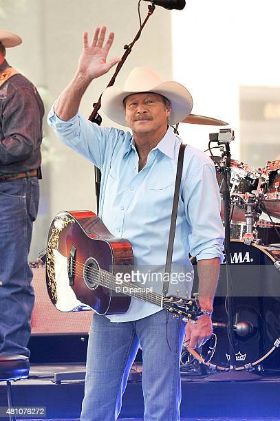 Alan Jackson performs on NBC's 'Today' at Rockefeller Plaza on July 17 2015 in New York City