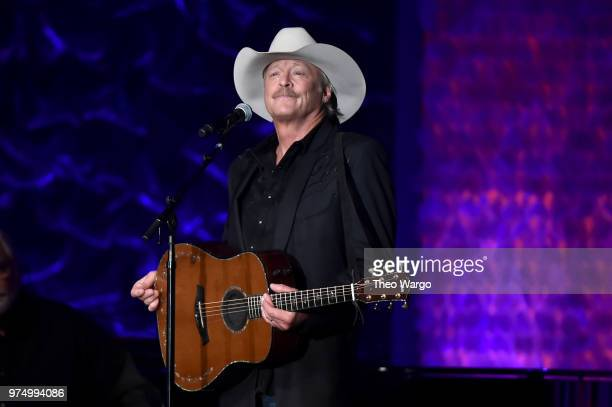 Alan Jackson performs onstage during the Songwriters Hall of Fame 49th Annual Induction and Awards Dinner at New York Marriott Marquis Hotel on June...