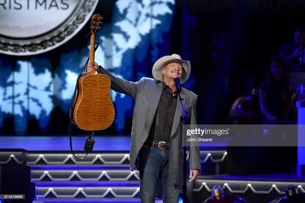 Alan Jackson performs onstage for CMA 2017 Country Christmas at The Grand Ole Opry on November 14, 2017 in Nashville, Tennessee.