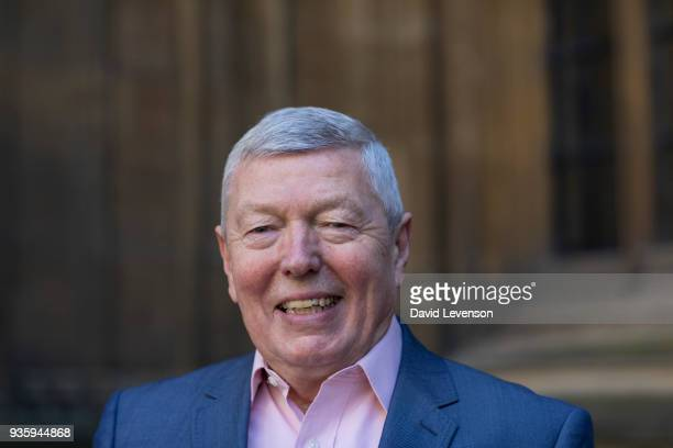Alan Johnson former British Home Secretary and author at the FT Weekend Oxford Literary Festival on March 21 2018 in Oxford England