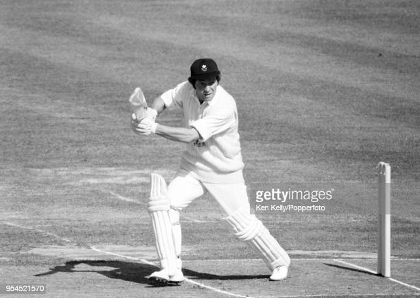 Alan Jones batting for Glamorgan during the Gillette Cup Final between Middlesex and Glamorgan at Lord's Cricket Ground, London, 3rd September 1977....