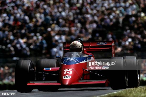 Alan Jones LolaFord THL2 Grand Prix of Canada Circuit Gilles Villeneuve 15 June 1986