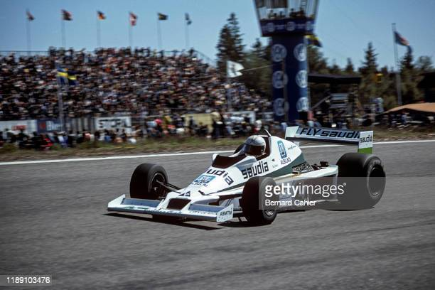 Alan Jones, Williams-Ford FW06, Grand Prix of Sweden, Anderstorp Raceway, 17 June 1978.
