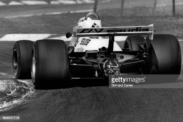 Alan Jones WilliamsFord FW07B Grand Prix of Belgium Circuit Zolder 04 May 1980
