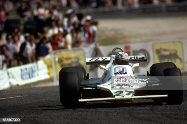 Alan Jones WilliamsFord FW07B Grand Prix of France Circuit Paul Ricard 29 June 1980
