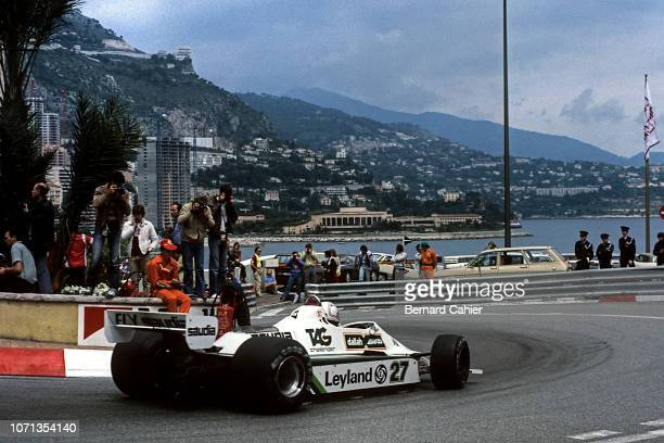 Alan Jones WilliamsFord FW07B Grand Prix of Monaco Circuit de Monaco 18 May 1980