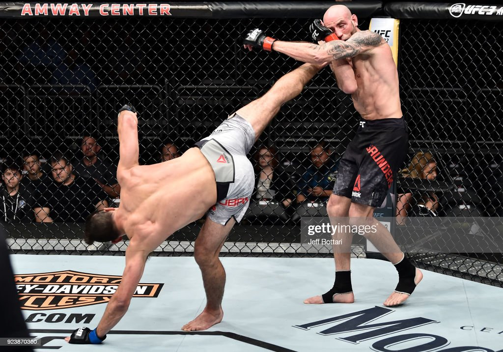 UFC Fight Night: Saunders v Jouban : News Photo