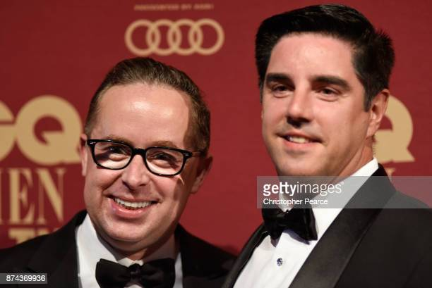 Alan Joyce and Shane Lloyd attend the GQ Men Of The Year Awards at The Star on November 15 2017 in Sydney Australia