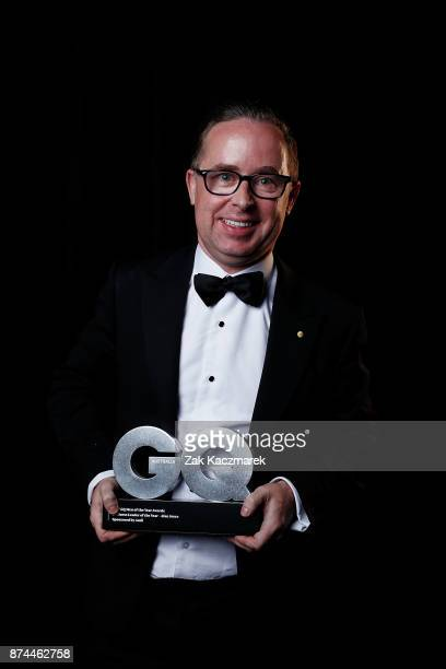 Alan Joyce backstage at the GQ Men Of The Year Awards at The Star on November 15 2017 in Sydney Australia